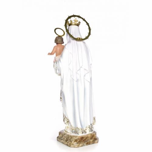 Virgin of Mercy wood paste 80cm, fine finish s3
