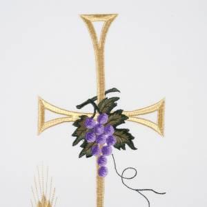 Voile de lutrin lampe épis raisins couleurs liturgiques s2