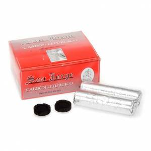 Węgle trybularzowe: Węgiel do kadzenia San Jorge wielkość 3,3cm
