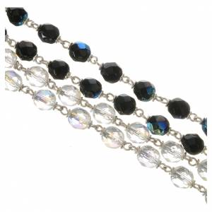 Wedding rosary beads, glass grains 7mm s5
