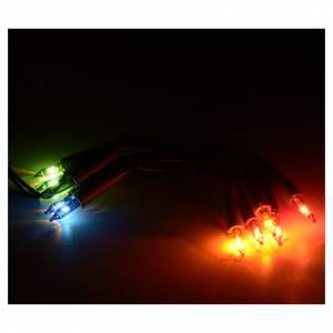 Weihnachtslichter: Weihnachtslichter 10 Lichter mehrfarbige