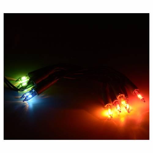 Weihnachtslichter 10 Lichter mehrfarbige s2