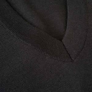 Jacken, Westen, Pullover: Weste V-Kragen dunn