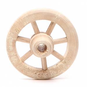 Wheel in wood diameter 4,5cm s1