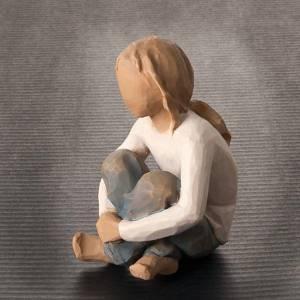 Willow Tree - Niña en meditación (Spirited Child) s2