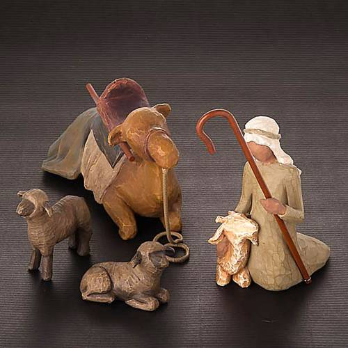 Willow Tree - Stepherd and Stable animals (pastore con animali) 2