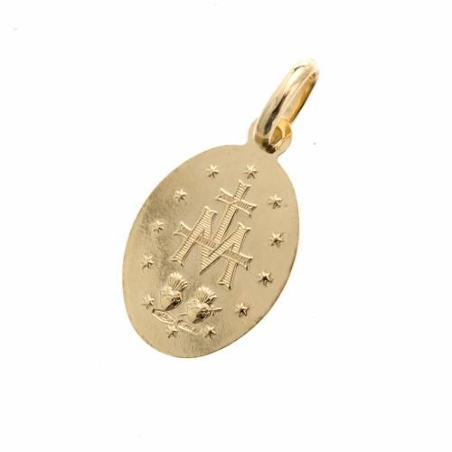 Wundertätige Medaille 750 Gold s3