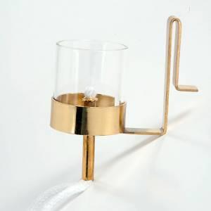 Ewiges Licht: Lampen und Zubehöre: Zubehör für das Öl im rubinroten Glasbecher