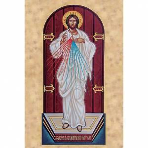 Heiligenbildchen: Heiligenbildchen Barmherziger Jesus Ikone