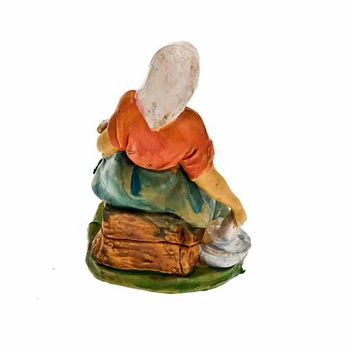 Nativity set figurine, mother with baby 10cm s2