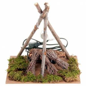 Accessory for do-it-yourself nativity sets: bonfire s1
