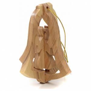 Addobbo albero olivo Terrasanta campana angelo s2