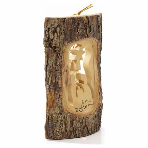 Adorno árbol olivo Tierra Santa tronco Natividad s2