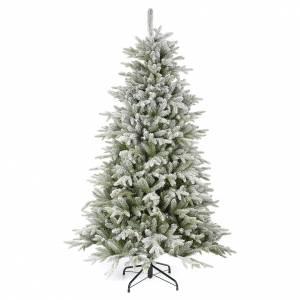 Albero di Natale 210 cm Poly floccato Snowy Sierra s1