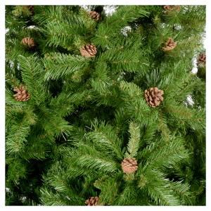 Albero di Natale 230 cm Praga verde pigne s2