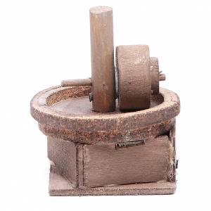 Belén napolitano: Almazara eléctrica 11x9 cm belén napolitano
