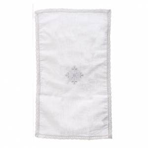 Altar linens: Altar linens, Purificator in linen and polyester