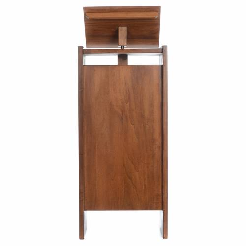 Ambo in solid wood, adjustable height 130x50x35 cm s1