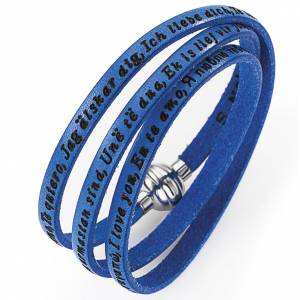 Amen bracelet I love you, blue s1