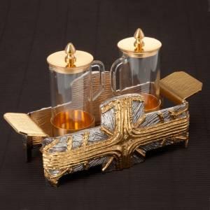 Ampolline croce oro argento s3