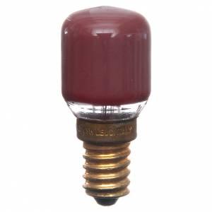 Lanternes et lumières: Ampoule rouge 15W E14 illumination crèche