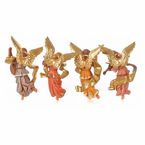 Angeli musicisti 4 pz Fontanini cm 11 s8