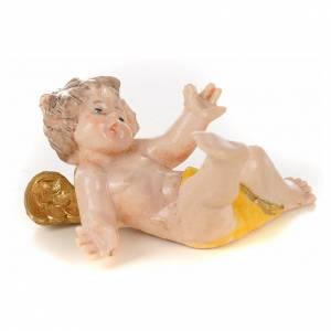 Angelots 6 cm Fontanini 4 pcs type porcelaine s5