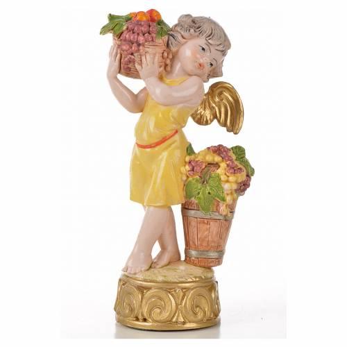 Angelots des saisons 12 cm Fontanini type porcelaine s10