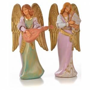 Angeli: Angioletti musicisti 2 pz Fontanini cm 15