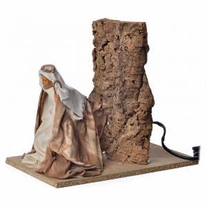 Animated nativity scene figurine, Saint Joseph, 18 cm s2