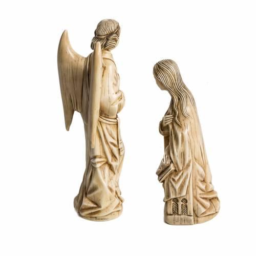Annunciation stone statues 29 cm, Bethlehem Nuns s3