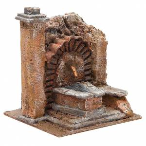 Antique Fountain for nativity 18x16x16cm s3