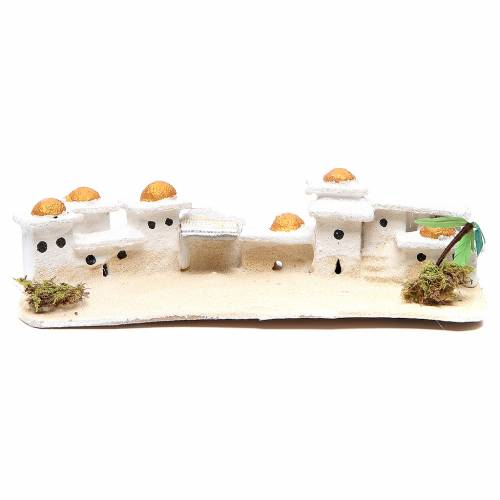 Arabian house for nativities, assorted models measuring 9x23x11cm s1