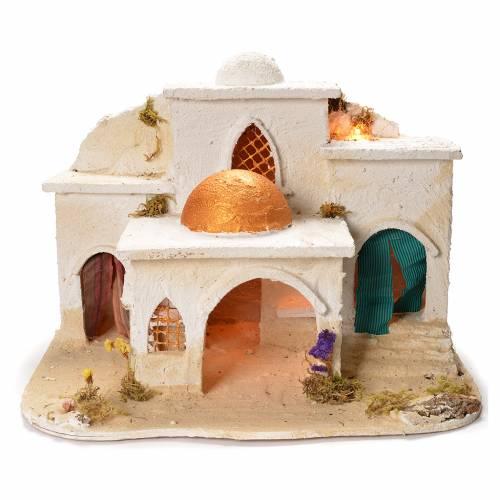 Arabian village, Neapolitan Nativity 37x20x50cm s1