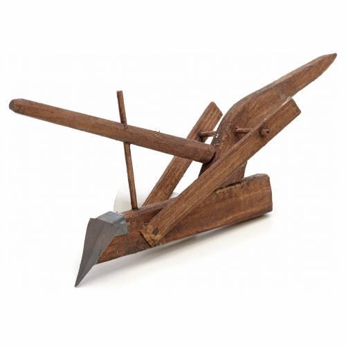 Arado pesebre napolitano 15x7x4 cm s2