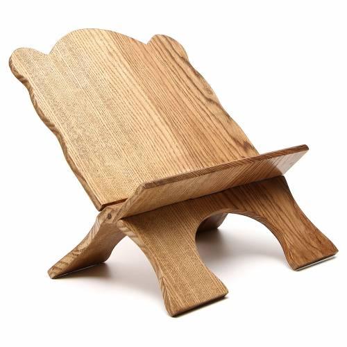 Atril de mesa madera de fresno simple Monjes de Belén s4