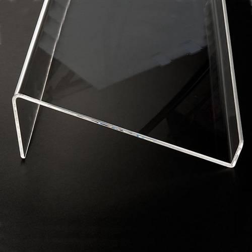Atril plexiglás 5 mm s5