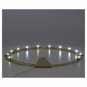 Aureola Estrella con LED en latón 40 cm s3