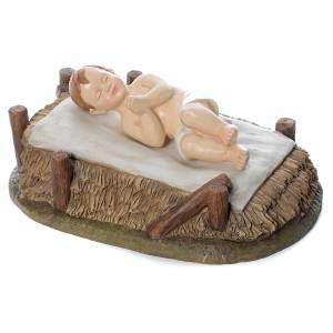 Nativity Scene figurines: Baby Jesus figurine in resin 120cm Martino Landi Collection