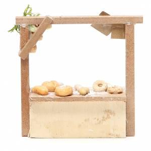 Banchetto presepe pane e dolci  10,5x11x4 cm s2