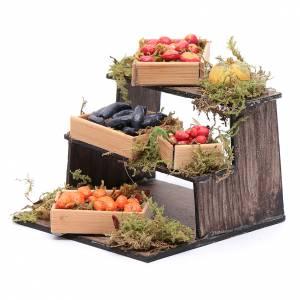 Banco di frutta e verdura presepe napoletano fai da te s2