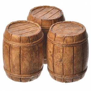 Nativity Scene by Moranduzzo: Barrels 3 pieces, Moranduzzo Nativity scene 10cm