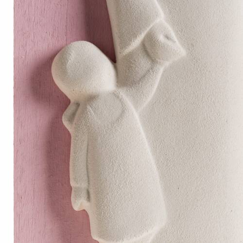Bas relief Tendresse fille coloré s3