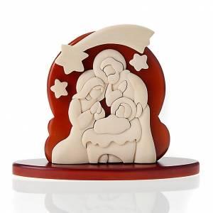 Bassorilievo Azur Sacra Famiglia 20x16 cm s1