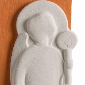 Bassorilievi vari: Bassorilievo Tendresse bimbo colorato