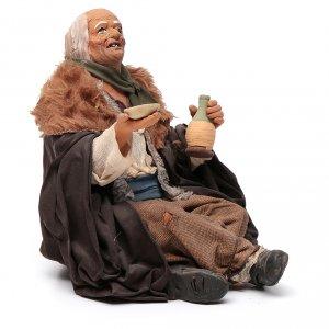 Beggar, Neapolitan Nativity 30cm s7