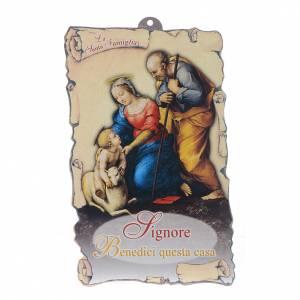 Bendición Pascual: Sagrada Familia con oración (10 s1