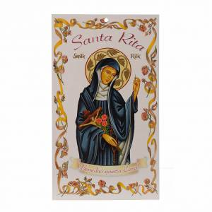 Bendición Pascual: Santa Rita con oración (100pz) s1