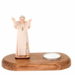 Benedict XVI on wooden base s1