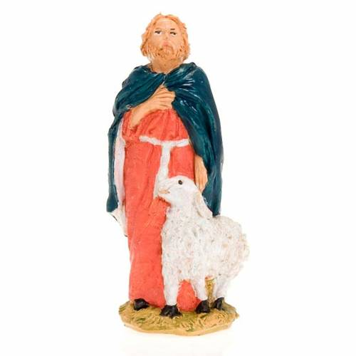 Berger avec mouton debout, 13 cm s1
